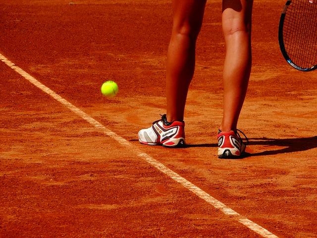 hráčka tenisu