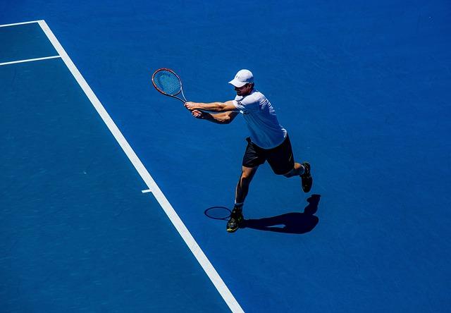 tenista na kurtu