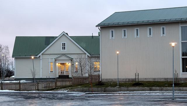Finská škola - Oulu