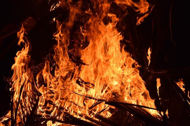 velký oheň