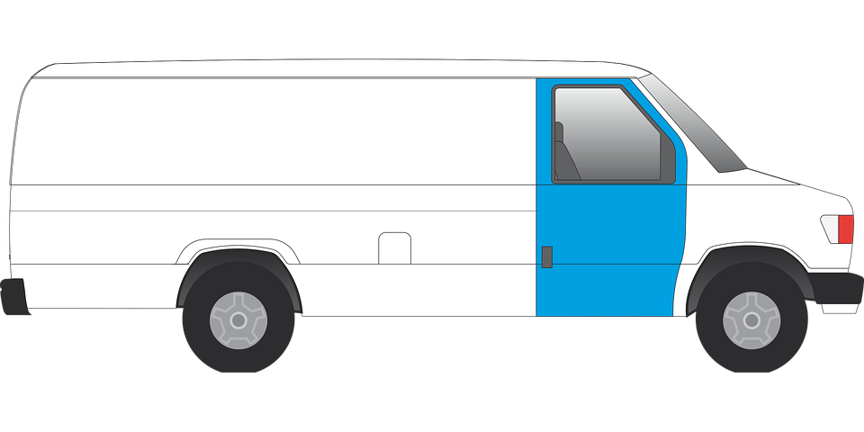 přepravní dodávka